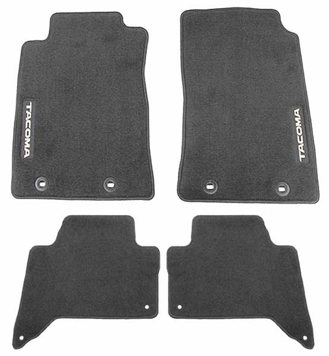 new 2011 2014 toyota tacoma carpeted floor mats from brandsport auto parts toy pt206 35142 15. Black Bedroom Furniture Sets. Home Design Ideas