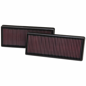 2011-2016 Replacement Air Filter 5.5 L 8 cyl Set of 2 K&N #kn-33-2474