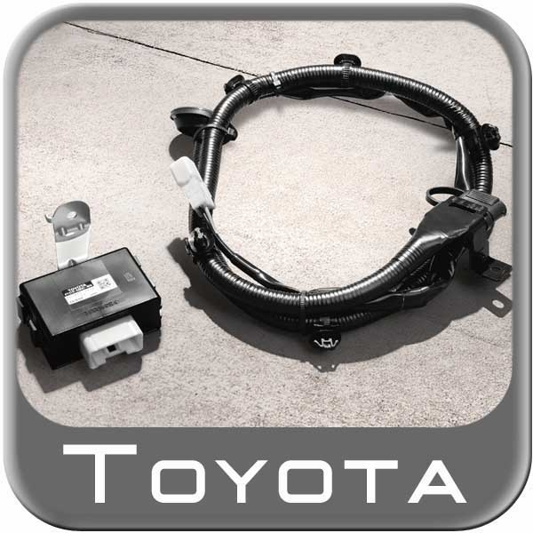 New  2014 Toyota Highlander Trailer Wiring Harness From