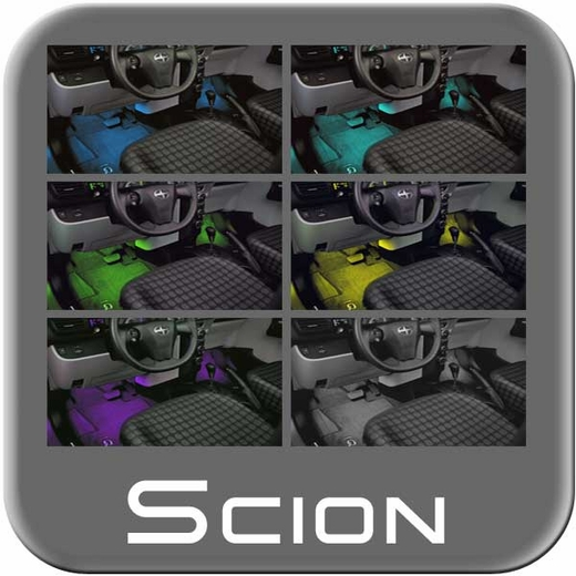 Scion iQ Interior Light Kit 2012-2015 7-Colors Genuine Toyota #PT922-74111