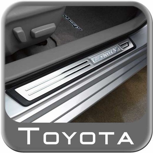 Toyota camry door sill protectors stainless