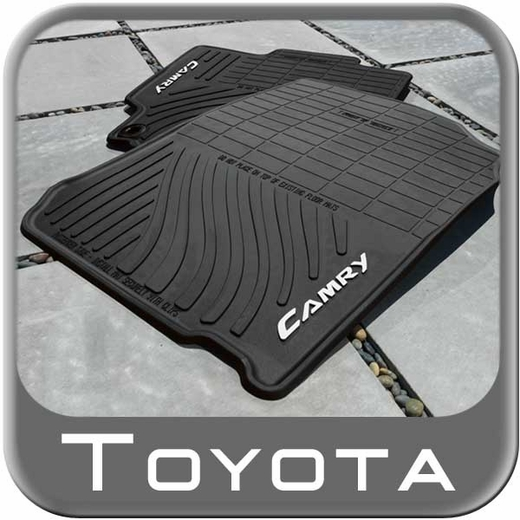 New 2012 2014 Toyota Camry Rubber Floor Mats From