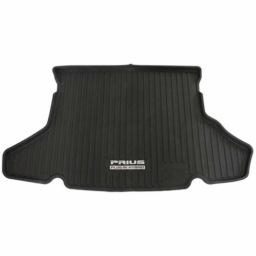 Toyota Prius Trunk Mat 2012-2015 Plug-in All Weather Style Surface Black Genuine Toyota #PT908-47125