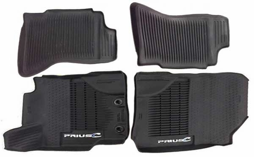 New 2012 2018 Toyota Prius C Rubber Floor Mats From
