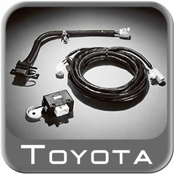 new 2012 2015 toyota tacoma trailer wiring harness from brandsport rh brandsport com toyota trailer wiring harness adapter toyota tundra trailer wiring harness