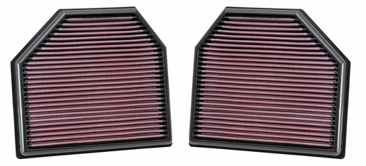 2012-2017 Replacement Air Filter 4.4 L 8 cyl Set of 2 K&N #kn-33-2488