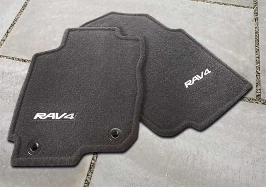 new 2013 2018 toyota rav4 carpeted floor mats from. Black Bedroom Furniture Sets. Home Design Ideas