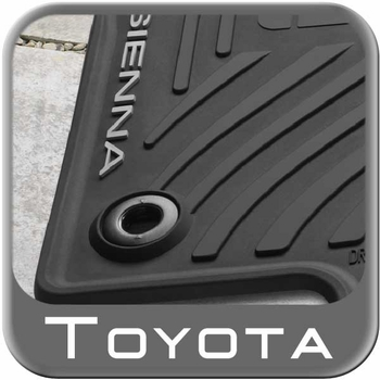 2017 2016 Toyota Sienna Rubber Floor Mats From Brandsport Auto Parts Toy Pt908 08130 20