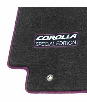 new 2013 toyota corolla se carpeted floor mats from. Black Bedroom Furniture Sets. Home Design Ideas