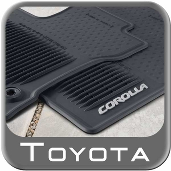 New 2014 2016 Toyota Corolla Rubber Floor Mats From