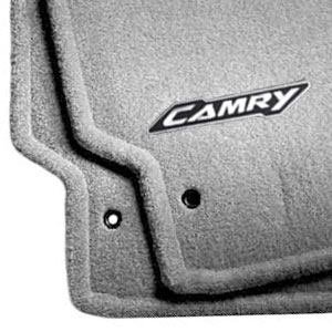 Toyota Camry Carpeted Floor Mats 2017 Gray 4 Piece Set Genuine