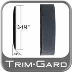 "3-1/4"" Wide Black Body Side Molding Sold by the Foot, Trim Gard® # 3502E-01"