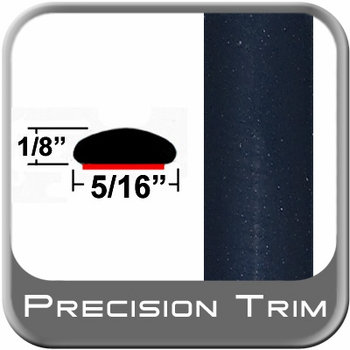 "5/16"" Wide Blue (Dark) Wheel Molding Trim (PT28) Sold by the Foot Precision Trim® #24200-28-01"