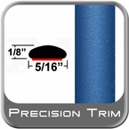 "5/16"" Wide Blue Wheel Molding Trim (PT41) Sold by the Foot Precision Trim® #24200-41-01"