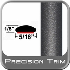 "5/16"" Wide Gray (Dark) Wheel Molding Trim (PT49) Sold by the Foot Precision Trim® #24200-49-01"