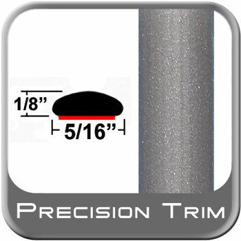 "5/16"" Wide Gray (Light) Wheel Molding Trim (PT91) Sold by the Foot Precision Trim® #24200-91-01"