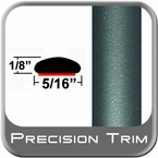 "5/16"" Wide Green (Dark) Wheel Molding Trim (PT78) Sold by the Foot Precision Trim® #24200-78-01"
