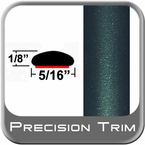 "5/16"" Wide Green (Dark) Wheel Molding Trim (PT92) Sold by the Foot Precision Trim® #24200-92-01"