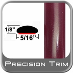 "5/16"" Wide Red (Dark) Wheel Molding Trim (PT65) Sold by the Foot Precision Trim® #24200-65-01"