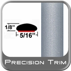 "5/16"" Wide Silver Wheel Molding Trim (PT22) Sold by the Foot Precision Trim® #24200-22-01"