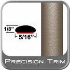 """5/16"""" Wide Light Olive/Tan Metallic Wheel Molding Trim ( CP47 ), Sold by the Foot, ColorTrim Plastics® # 40-47"""