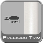 "5/16"" Wide White Wheel Molding Trim (PT17) Sold by the Foot Precision Trim® #24200-17-01"