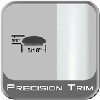 """5/16"""" Wide Arctic Frost Wheel Molding Trim ( PT73 ), Sold by the Foot, Precision Trim® # 24200-73"""