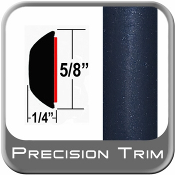 "5/8"" Wide Blue (Dark) Wheel Molding Trim (PT35) Sold by the Foot Precision Trim® #37130-35-01"