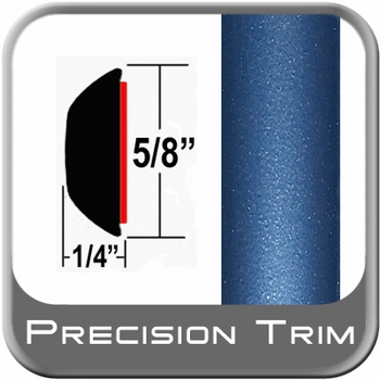 """5/8"""" Wide Blue Wheel Molding Trim (PT81) Sold by the Foot Precision Trim® #37130-81-01"""
