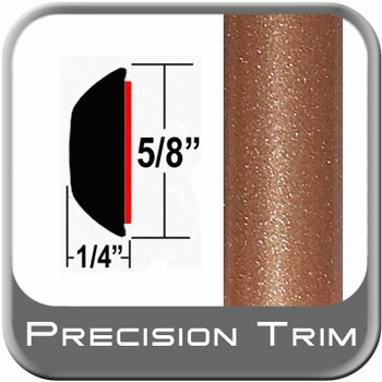 "5/8"" Wide Copper Wheel Molding Trim (PT80) Sold by the Foot Precision Trim® #37130-80-01"