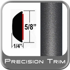 "5/8"" Wide Gray (Dark) Wheel Molding Trim (PT49) Sold by the Foot Precision Trim® #37130-49-01"
