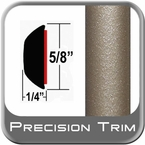 """5/8"""" Wide Light Olive/Tan Metallic Wheel Molding Trim ( CP47 ), Sold by the Foot, ColorTrim Plastics® # 80-47"""
