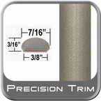 """7/16"""" Wide Beige Wheel Molding Trim ( PT33 ), Sold by the Foot, Precision Trim® # 2150-33-01"""