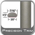 "7/16"" Wide Beige Wheel Molding Trim (PT48) Sold by the Foot Precision Trim® #2150-48-01"