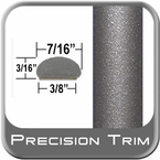 """7/16"""" Wide Beige Wheel Molding Trim ( PT71 ), Sold by the Foot, Precision Trim® # 2150-71-01"""