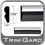 "7/16"" Wide Black-Chrome Wheel Molding Trim Sold by the Foot, Trim Gard® # R102-01"