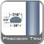 """7/16"""" Wide Blue (Light) Wheel Molding Trim ( PT30 ), Sold by the Foot, Precision Trim® # 2150-30-01"""