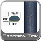 """7/16"""" Wide Blue Wheel Molding Trim ( PT34 ), Sold by the Foot, Precision Trim® # 2150-34-01"""