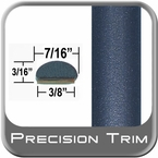 """7/16"""" Wide Blue Wheel Molding Trim ( PT13 ), Sold by the Foot, Precision Trim® # 2150-13-01"""