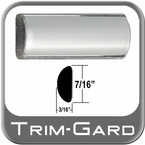 "7/16"" Wide Chrome Wheel Molding Trim Sold by the Foot Trim Gard® #0301-01"