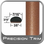 "7/16"" Wide Copper Wheel Molding Trim ( PT80 ), Sold by the Foot, Precision Trim® # 2150-80-01"