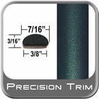 "7/16"" Wide Green (Dark) Wheel Molding Trim ( PT92 ), Sold by the Foot, Precision Trim® # 2150-92-01"
