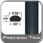 "7/16"" Wide Green (Dark) Wheel Molding Trim ( PT95 ), Sold by the Foot, Precision Trim® # 2150-95-01"