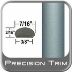 "7/16"" Wide Green (Light) Wheel Molding Trim ( PT94 ), Sold by the Foot, Precision Trim® # 2150-94-01"