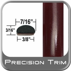 "7/16"" Wide Red (Dark) Wheel Molding Trim ( PT72 ), Sold by the Foot, Precision Trim® # 2150-72-01"