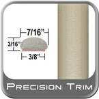 "7/16"" Wide Tan Wheel Molding Trim ( PT93 ), Sold by the Foot, Precision Trim® # 2150-93-01"