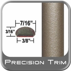 """7/16"""" Wide Tan Wheel Molding Trim ( PT96 ), Sold by the Foot, Precision Trim® # 2150-96-01"""