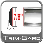 "7/8"" Wide Chrome Body Side Molding Sold by the Foot Trim Gard® #BT01-01"