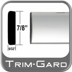 "7/8"" Wide Chrome Body Side Molding Sold by the Foot Trim Gard® #PP01-01"