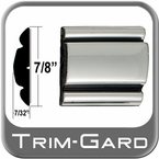 "7/8"" Wide Chrome Body Side Molding Two 13' Strips Trim Gard® #801"